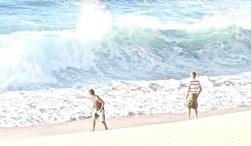 2 Boys at North Shore